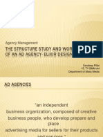 The Structure Study and Work Culture of an Ad Agency