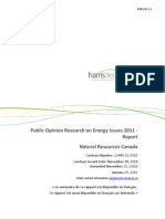 Natural Resources Canada Poll