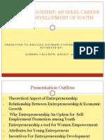 Etrepreuneurship, An Ideal Career for the Development[1]