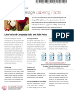 Food and Beverage Barcode Labeling Fact Sheet