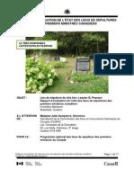Lester B. Pearson Grave Site Monitoring Report 2011
