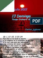 Domingo T.O. -B- Salmo 2012