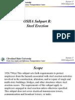OSHA 1926 Subpart R - Steel Erection