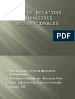 Unlicensed RFI Projet Systeme Monetaires Internationales