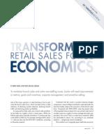 Transforming Retail Sales Economics