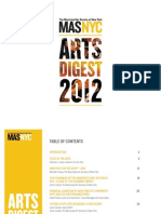New York City Arts Digest 2012