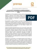 Viaje de Pasantia de Autoridades y Funcionarios Del Gobierno Regional y Gobiernos Locales de Apurimac Al Departamento Del Cusco