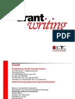 Grantwriting Procedure