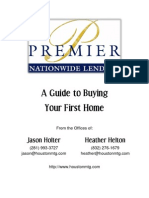 A Guide to Buying Your First Home - Website