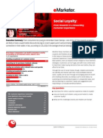eMarketer Social Loyalty-From Rewards to a Rewarding Customer Experience Copy