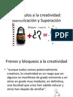 Obstáculos a la creatividad - Clase 5