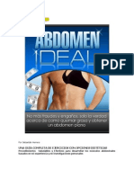 Abdomen Ideal Entrenamiento
