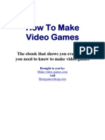 How to Make a Video Game