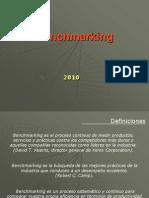 Benchmarking 2010 - Sr. Nelson Ibarra