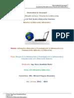 Ensayo Trabajo Individual La Globalizacion y Tecnologia en La Educacion Superior