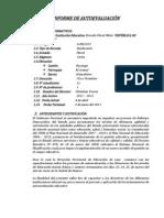 Informe de Autoevaluacion Instituciona Para Presentarse