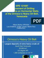 121697_Improvement of Drilling Operations on Horizontal Wells at the Orinoco's Heavy Oil Belt,Venezuela