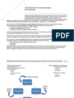 Aligning CCSS Language Standards with the World Languages 5C's