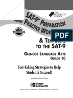 GLENCOE - Gr. 10 Grammar SAT Workbook