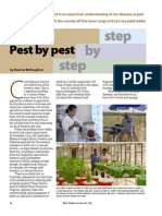 RT Vol. 5, No. 3 Pest by pest, step by step