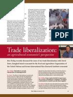 RT Vol. 5, No. 3 Trade liberalization