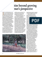 RT Vol. 5, No. 3 Opportunities beyond growing rice---a farmer's perspective