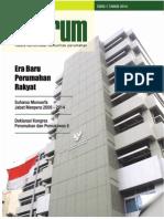Era Baru Perumahan Rakyat. Media Komunikasi Komunitas Perumahan 'INFORUM' Edisi 1 tahun 2010