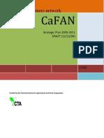 CaFAN Strategic Plan 2009-2011