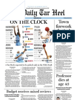 The Daily Tar Heel for June 28, 2012