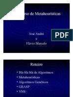 Minicurso de Metaheurísticas