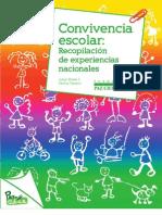 Recopilación experiencias convivencia escolar en Chile