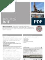 Teufelberger Rope Data Sheet-TK 16 - QS816V