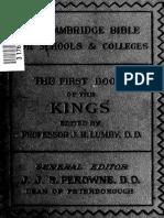 11. 1st Kings
