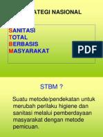 STRATEGI NASIONAL SANITASI TOTAL BERBASIS MASYARAKAT (STBM)