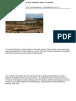 Actividad Minera Colombiana