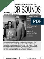 2012 July August Senior Sounds Newsletter