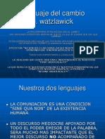 Lenguaje Del Cambio