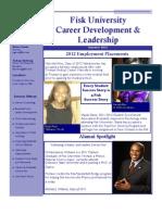 Career Development and Leadership Highlights Summer 2012