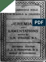 22. Jeremiah and Lamentations