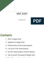 MLT 2107 Dengue Fever