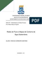 Redes de Fluxo e Mapa de Contorno de Aguas Subterraneas