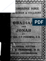 27. Obadiah and Jonah