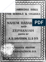 29. Nahum, Habakkuk, And Zephaniah