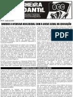 Boletim Trincheira Estudantil nº 1 - Boletim OCC - Junho de 2012