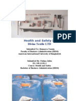 Health and Safety In