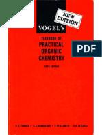 Vogel Practical Organic Chemistry