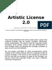 Aristic License 2 0