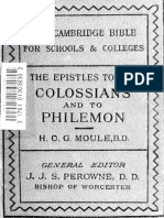 43. Colossians and Philemon