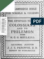 43. Colossians and Philemon