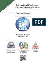 IE2012 Conference Program